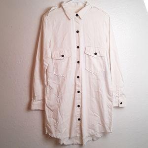 Zara Premium long sleeve button down shirt